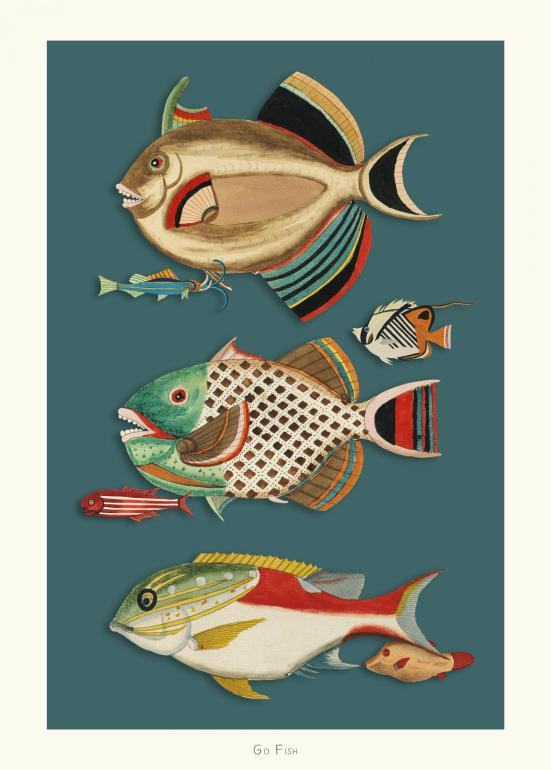 Go Fish no. 6 - plakat