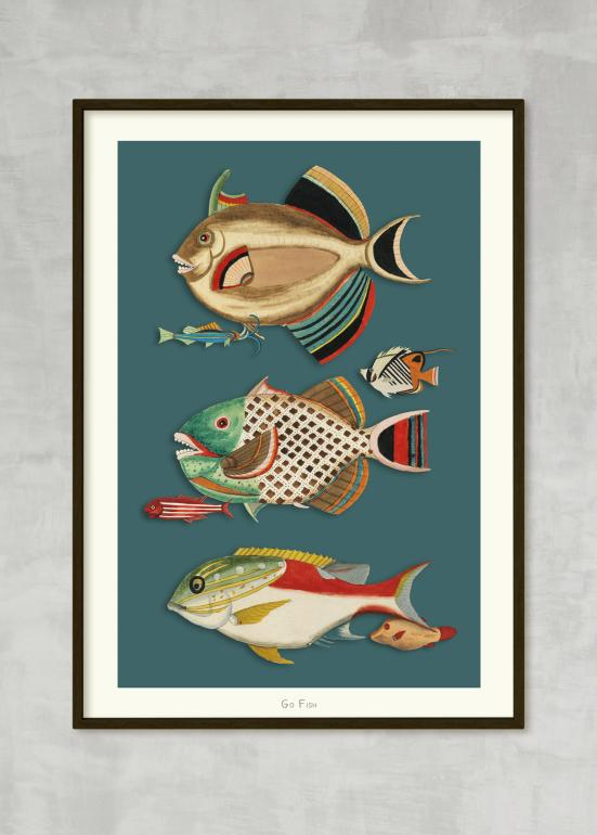 Go Fish no. 6 - plakat eks01