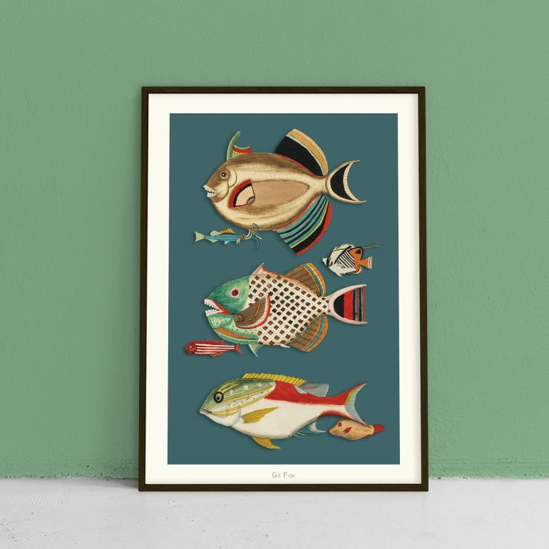 Go Fish no. 6 - plakat eks02